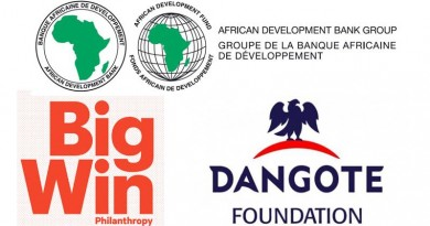 afdb big win PHILANTHROPY AND DANGOTE FOUNDATION