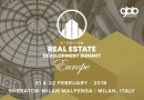 Real Estate Development Summit Europe on 21st& 22nd February at the Sheraton Milan Malpensa in Milan, Italy.