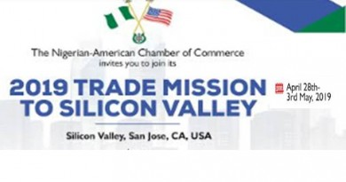 NACC 2019 Trade Mission to Silicon Valley Valley, 'Turning Promises to Action' for April 28-May 3, 2019