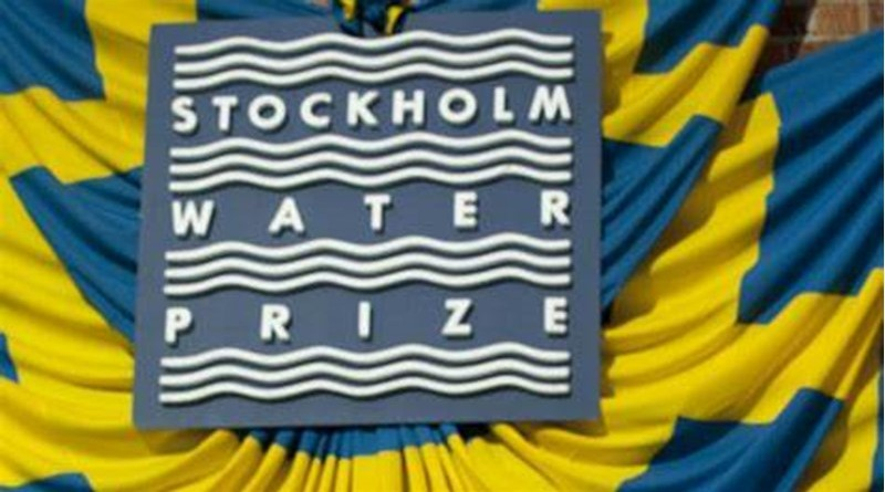 stockholm water prize