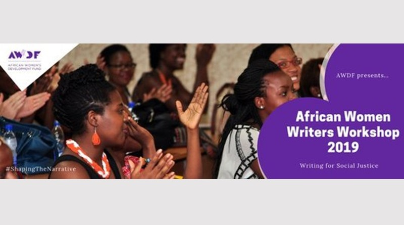 AWDF African Women Writers Workshop 2019 for African women Writers & Journalists