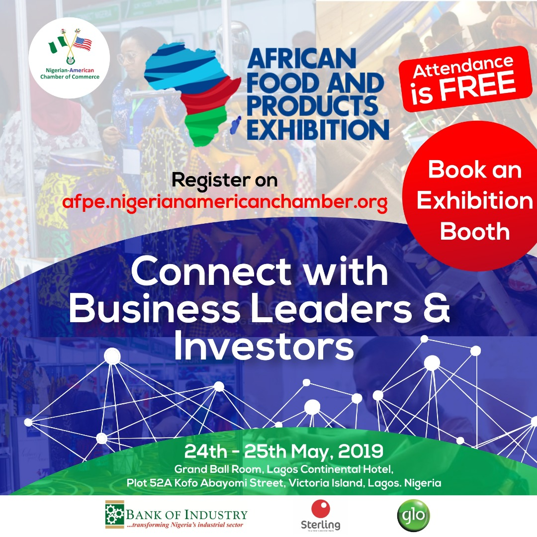 African Foods and Products Exhibition AFPE, 2019