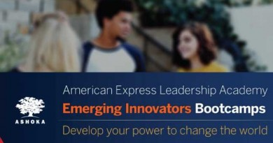 Ashoka American Express Leadership Academy Emerging Innovators Bootcamps 2019 for Social Entrepreneurs