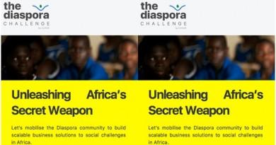 CcHub Diaspora Challenge 2019 for Disporian Africans.