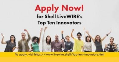 Shell LiveWIRE Top Ten Innovators (TTI) 2019