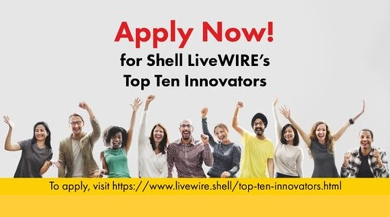 Shell LiveWIRE Top Ten Innovators (TTI) 2019