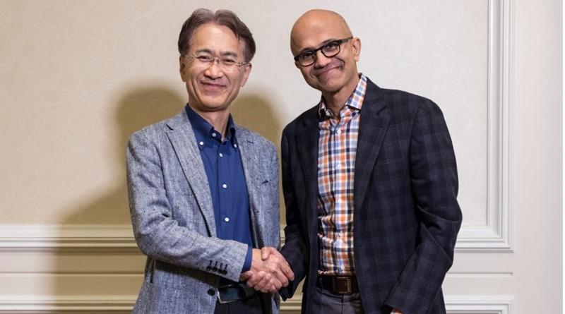 sony microsoft partnership