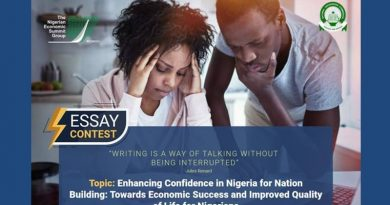 Nigerian Economic Summit (NES) 25th Anniversary Essay Competition 2019
