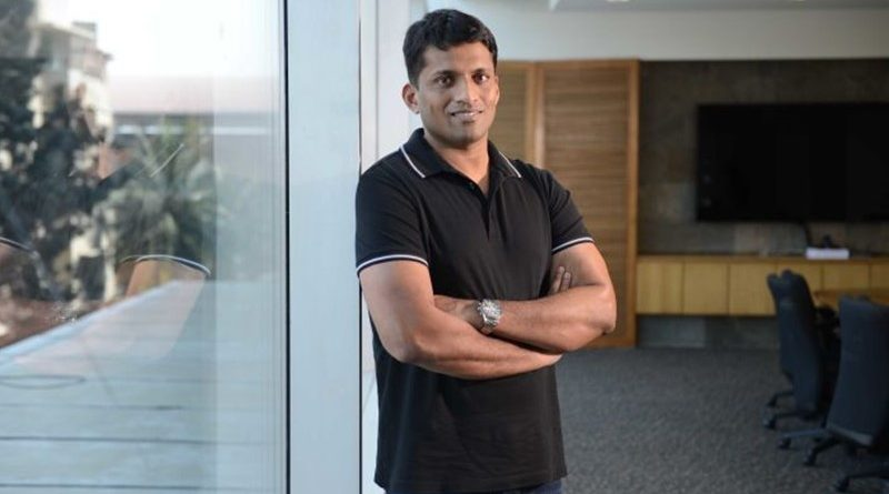 Byju Raveendran owner of education app Byju that raked in $150 million in its latest funding round.