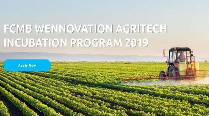 FCMB Wennovation Agritech Incubation Program