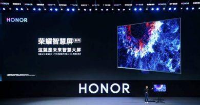 HONOR VISION SMART TV POWERED BY HUAWEI'S HarmonyOS