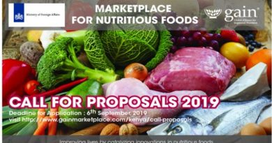 marketplace for nutritious business