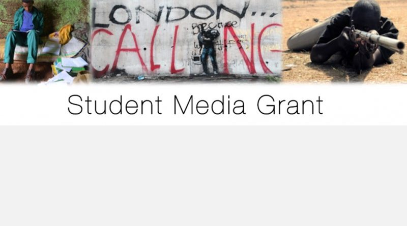 STUDENT MEDIA GRANT AWARD