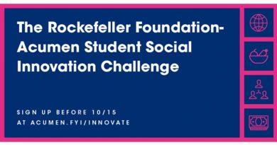 acumen student social innovation challenge