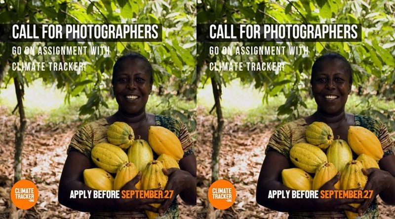 call for photographers