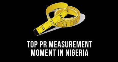 top pr measurement moment in nigeria