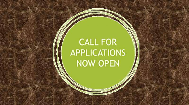 CALL FOR APPLICATIONS NOW OPEN
