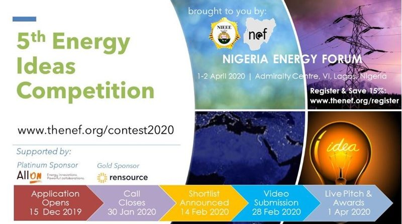 NEF 5th Africa Energy Innovation Competition 2020
