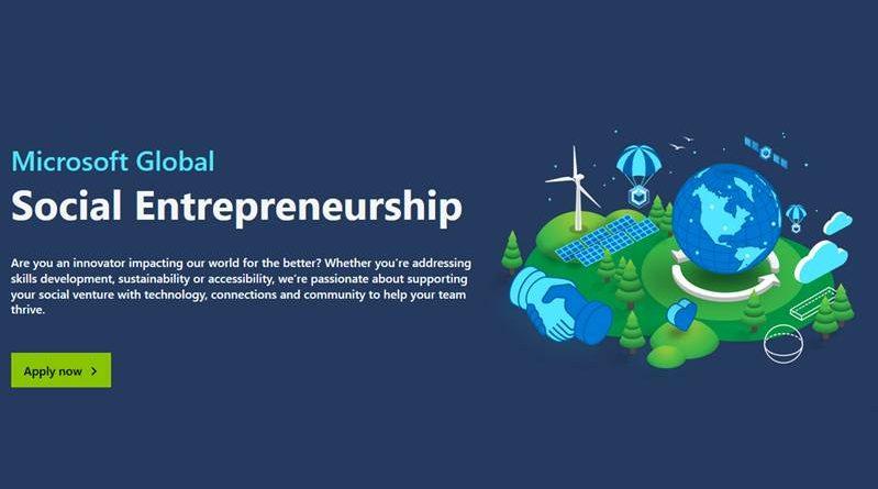 Microsoft Global Social Entrepreneurship Programme