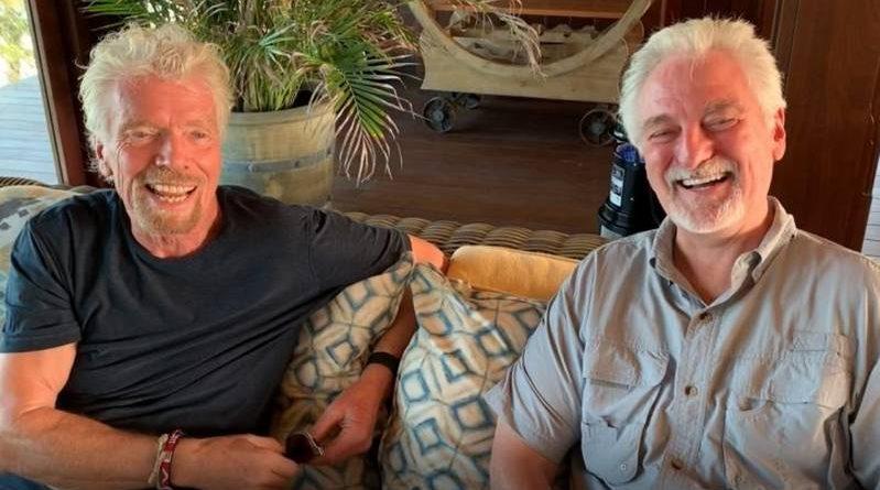 richard Branson and Ivan Misner