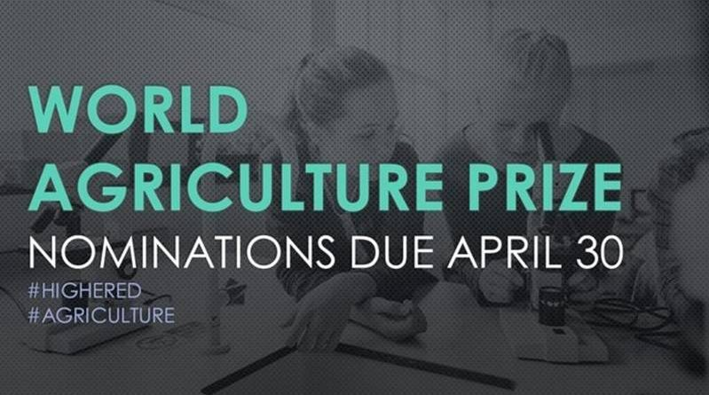 world agriculture prize