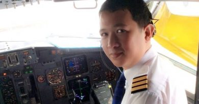 Co-Pilot Nakarin Inta has been flying for Thai Lion Air for four years.