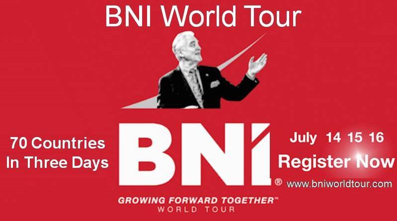 BNI world tour