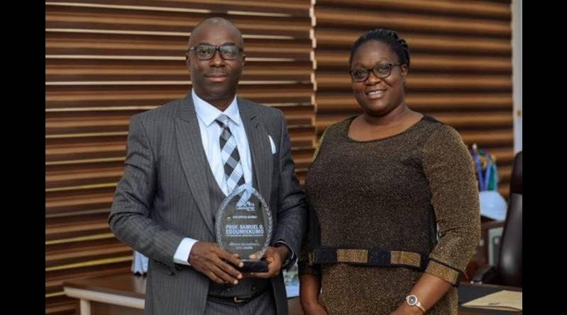 Vice-Chancellor of Niger Delta University, Prof. SG Edoumiekumo, wins African Educational Icon award - ALM