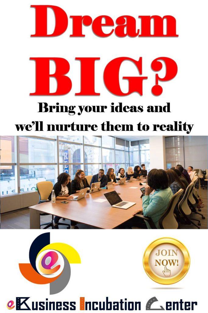 ebic ebusiness incubation center dream big