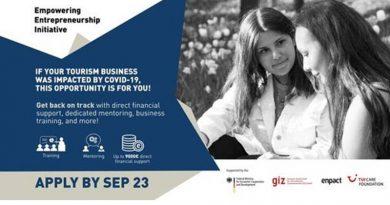 Enpact Empowering Entrepreneurship Initiative 2020 COVID-19 Relief Programme for Tourism