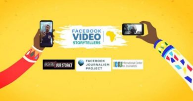 ICFJ Facebook Video Storytellers-Africa Training Program 2020 for African Content Creators