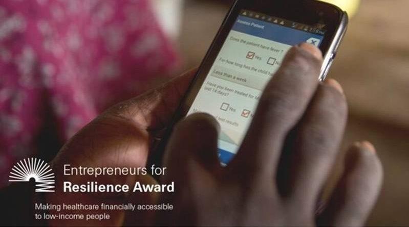 Swiss Re Foundation Entrepreneurs for Resilience Award 2021 for entrepreneurial initiatives