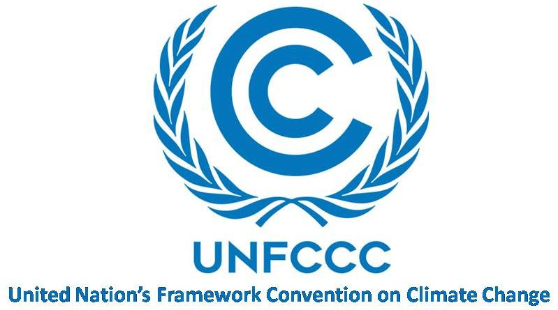 UNFCCC United Nation's Framework Convention on Climate Change
