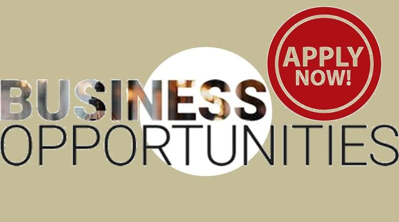 apply now for business opportunities opportunity