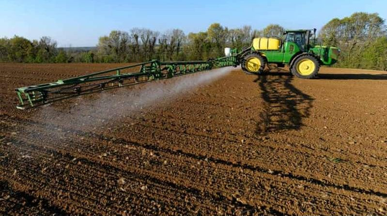 soil and agricultural land and farms