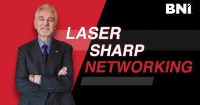 Laser-Sharp Networking by Dr. Ivan Misner